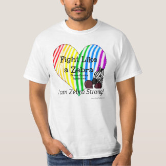 シマウマのEhlers-Danlosの認識度のような戦い Tシャツ