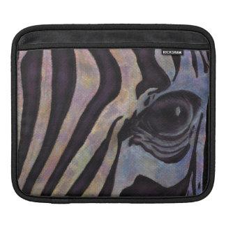 シマウマのiPadの横の袖(ロリ地方Corbett) iPadスリーブ