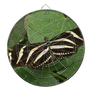 シマウマのLongwingの蝶投げ矢板 ダーツボード