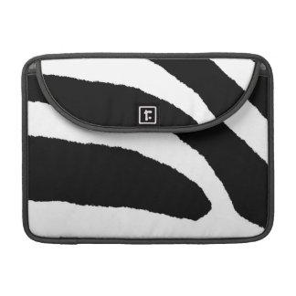 シマウマは第3動きを縞で飾ります MacBook PROスリーブ