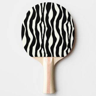 シマウマは-白黒を縞で飾ります 卓球ラケット