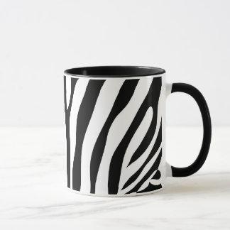 シマウマパターン倍数項目 マグカップ