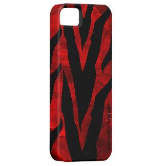 シマウマ赤いIphone 5 iPhone SE/5/5s ケース