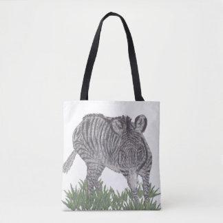 シマウマ、アフリカ動物、野生の生命 トートバッグ