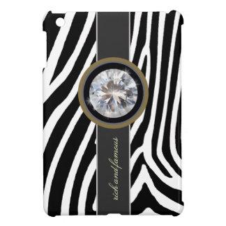 シマウマ、ストライブ柄およびダイヤモンド iPad MINI カバー
