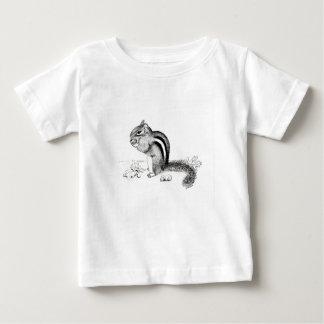 シマリス ベビーTシャツ