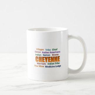シャイエンヌのインディアン コーヒーマグカップ