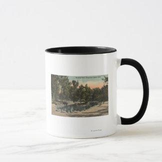 シャイエンヌ渓谷、コロラド州- Stratton公園の眺め マグカップ
