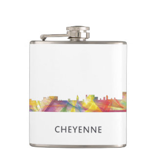 シャイエンヌ、ワイオミングのスカイラインWB1 -飲み物のフラスコ フラスク