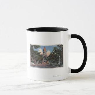 シャイエンヌ、WY -州の国会議事堂の眺めおよびDrivewa マグカップ