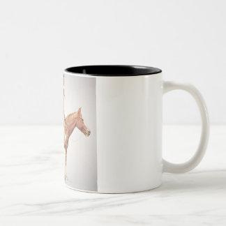 シャイエンヌBrave 1901年(色のlitho) ツートーンマグカップ