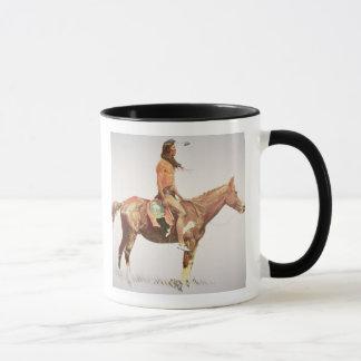 シャイエンヌBrave 1901年(色のlitho) マグカップ