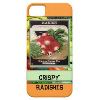 シャキッとしたラディッシュ iPhone SE/5/5s ケース