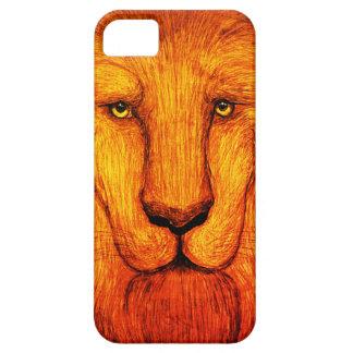 シャギーなライオン iPhone SE/5/5s ケース