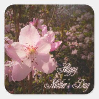 シャクナゲの花 スクエアシール