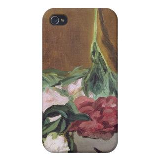 シャクヤクおよびSecateurs、c.1864のManet |の茎 iPhone 4 Case