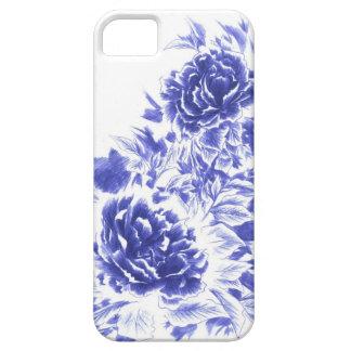 シャクヤクのやっとそこにIPhone美しく青い5の箱 iPhone SE/5/5s ケース