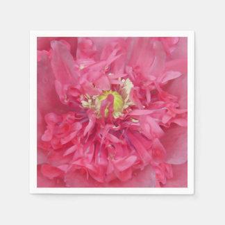 シャクヤクの花の花びら スタンダードカクテルナプキン
