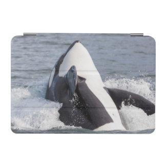 シャチのクジラの破ること iPad MINIカバー