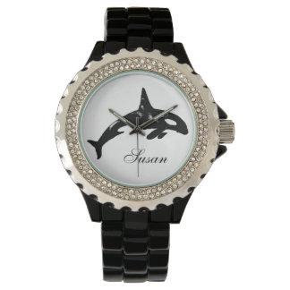 シャチのクジラ 腕時計