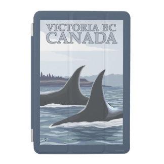 シャチのクジラ#1 -ビクトリア、紀元前にカナダ iPad MINIカバー