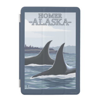 シャチのクジラ#1 -ホーマー、アラスカ iPad MINIカバー