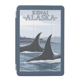 シャチのクジラ#1 - Kenai、アラスカ iPad Miniカバー