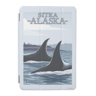 シャチのクジラ#1 - Sitka、アラスカ iPad Miniカバー