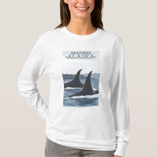 シャチのクジラ#1 - Skagway、アラスカ Tシャツ