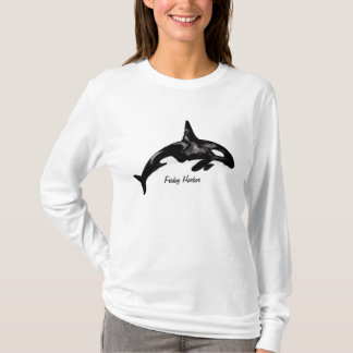 シャチのクジラ Tシャツ