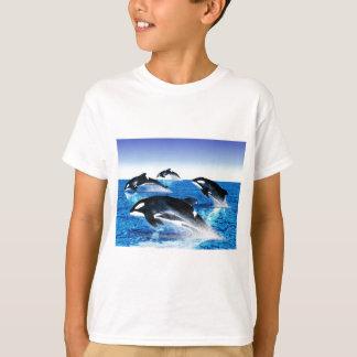 シャチのポッド Tシャツ