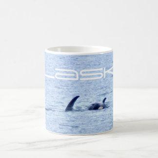シャチの写真のマグ コーヒーマグカップ