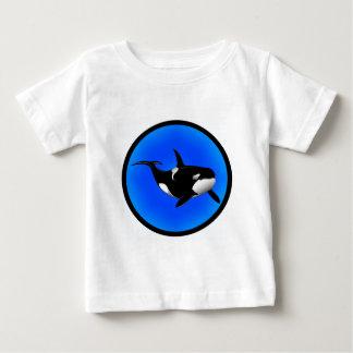 シャチの夢 ベビーTシャツ