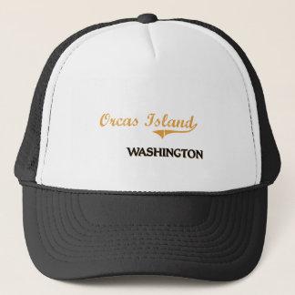 シャチの島のワシントン州のクラシック キャップ