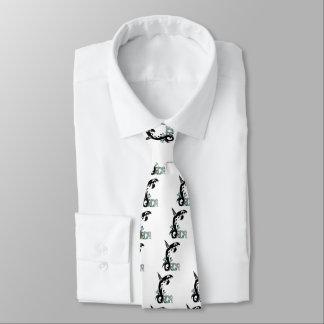 シャチの自由の芸術 ネクタイ