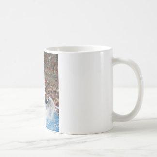 シャチの跳躍 コーヒーマグカップ