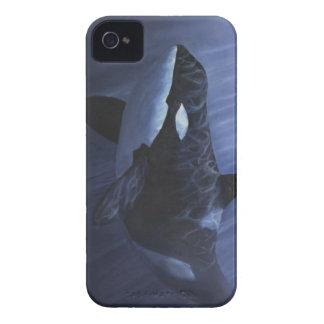 シャチの青- Case-Mate iPhone 4 ケース