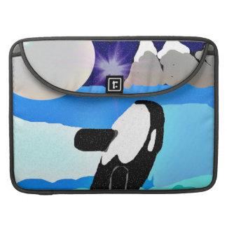 """シャチのMacbookのユニークな空気15""""袖 MacBook Proスリーブ"""