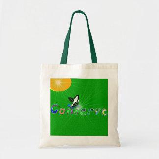 シャチは地球バッグを節約します トートバッグ