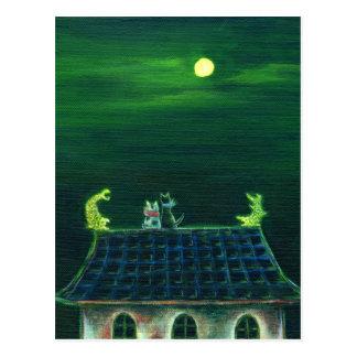 シャチホコの夜 ポストカード