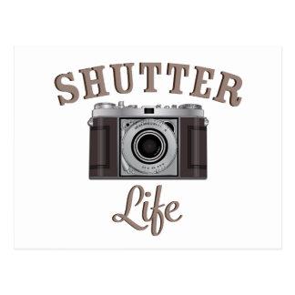 シャッター生命レトロのカメラ ポストカード