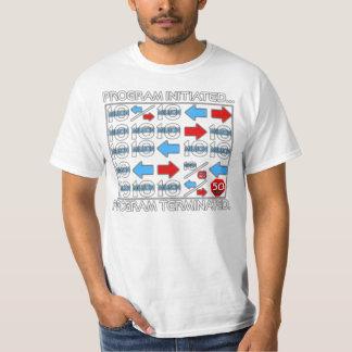 シャトルのシミュレーション Tシャツ