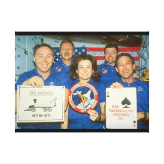 シャトルの乗組員。 (crew_Space キャンバスプリント
