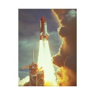 シャトルの進水。 (shuttle_Space キャンバスプリント
