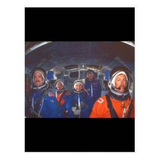 シャトルのcrew_Space ポストカード