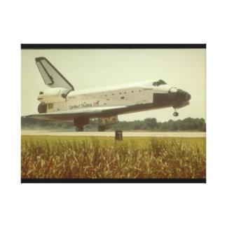 シャトルのlanding_Space キャンバスプリント
