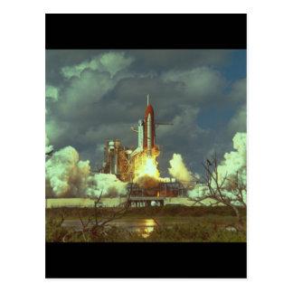シャトルのlaunch_Space ポストカード