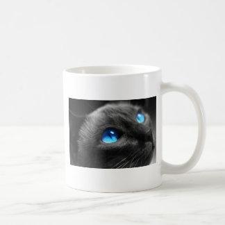 シャムの青い目 コーヒーマグカップ