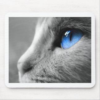 シャムの青い目 マウスパッド