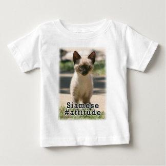 シャムの#Attitude ベビーTシャツ
